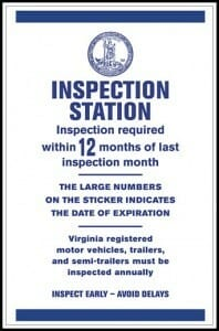 Virginia State Inspection Station