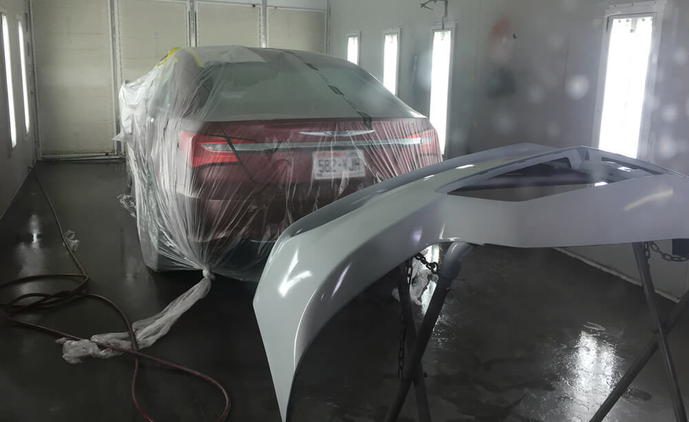 Smithfield Auto Collision Paint Booth