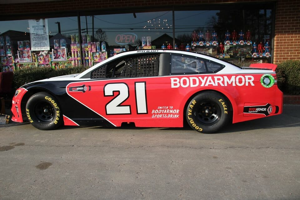 #21 Body Armor Car
