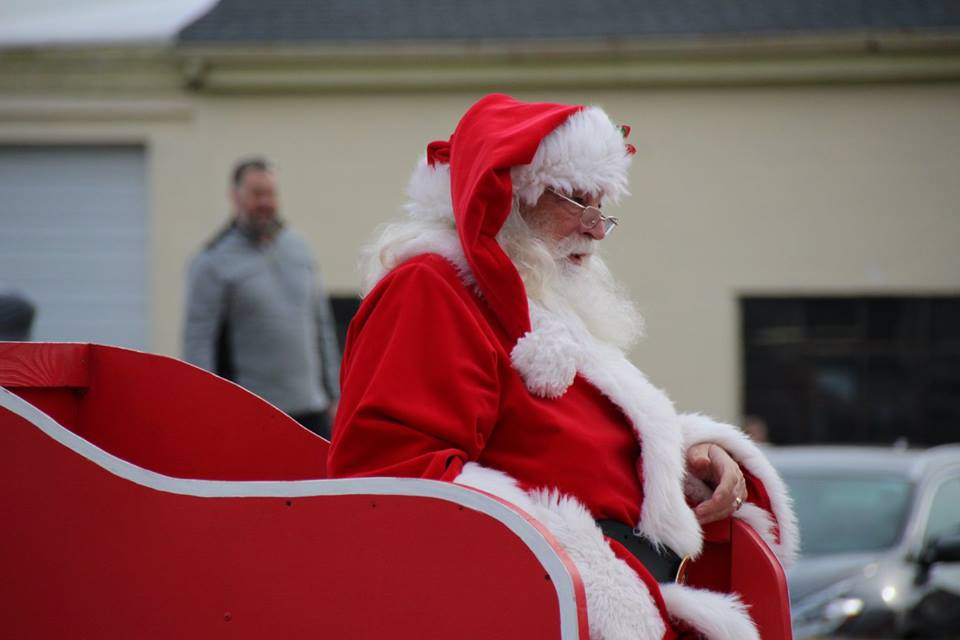 Santa Claus at Toys for Tots